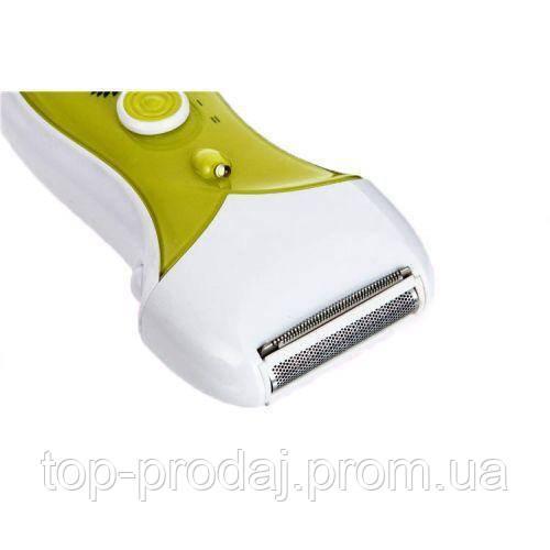 Эпилятор 7667 3in1, Эпилятор с тройной насадкой, Эпилятор с бритвенной насадкой, Женская электробритва