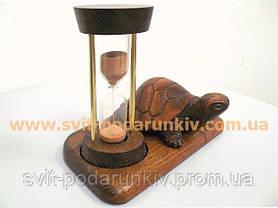 Песочные часы со статуэткой черепаха, оригинальный подарок, фото 2