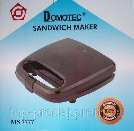 Сендвичница MS 7777, Бутербродница сендвичница, Сендвичница с антипригарным покрытием, Сендвичница Domotec