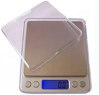 Весы ACS 500gr/0.01g BIG 12000 B 1729, Компактные ювелирные электронные весы, Точные весы аптечные