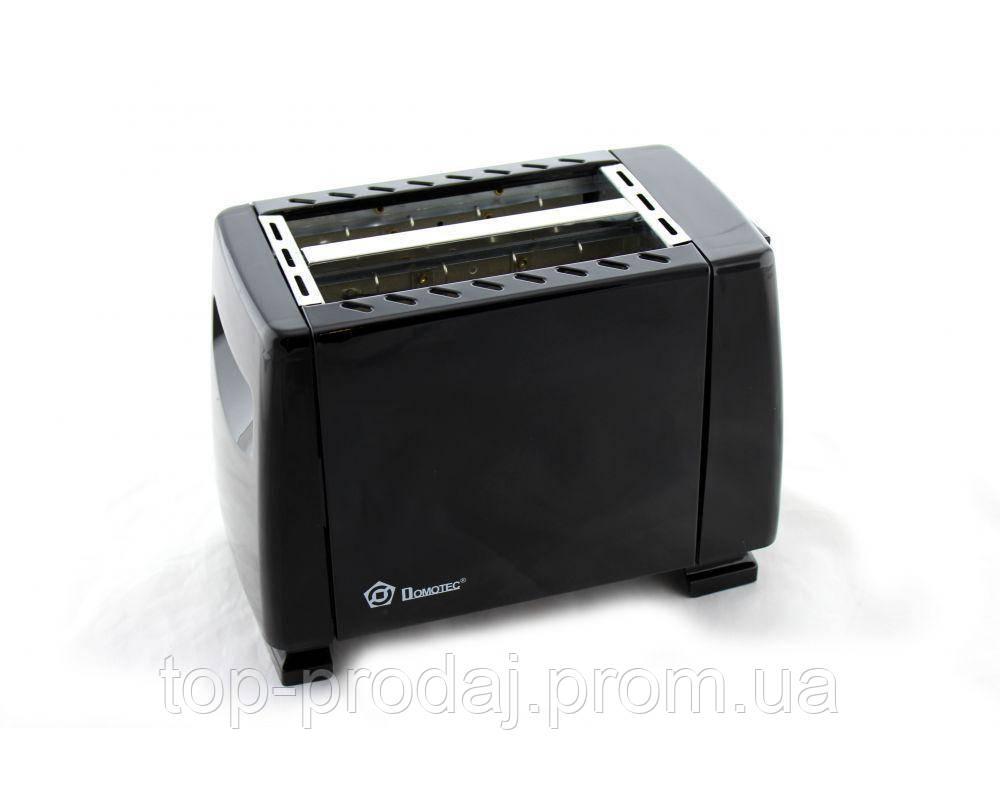 Тостер MS 3230 черный, Тостерница, Тостер домотек, Механический тостер, Тостер для хлеба, Тостер 6 режимов