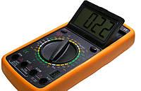 Мультиметр DT 9208, Цифровой мультиметр, Измеритель емкости, частоты и температуры, Тестер многофункциональный