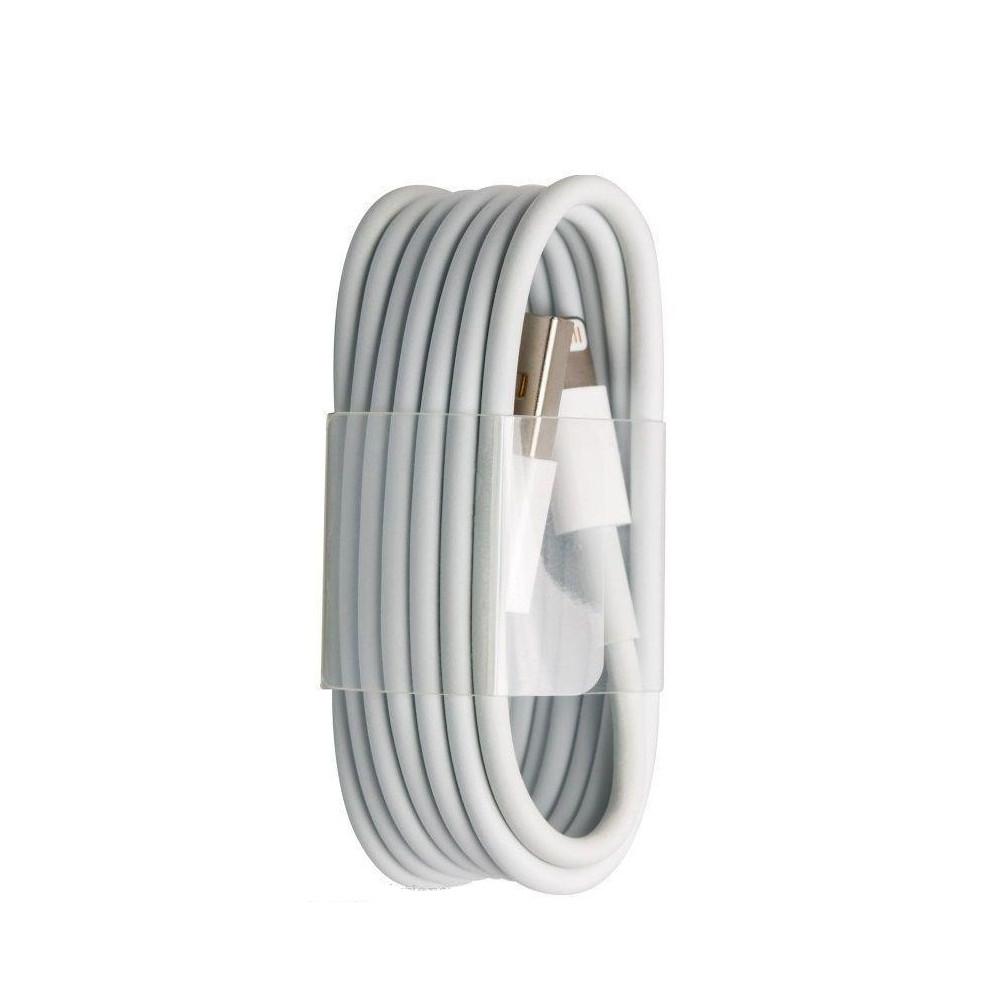 Кабель синхронізації ATCOM data Iphone 5/6/6S/7 - Ipad 4/air (білий)