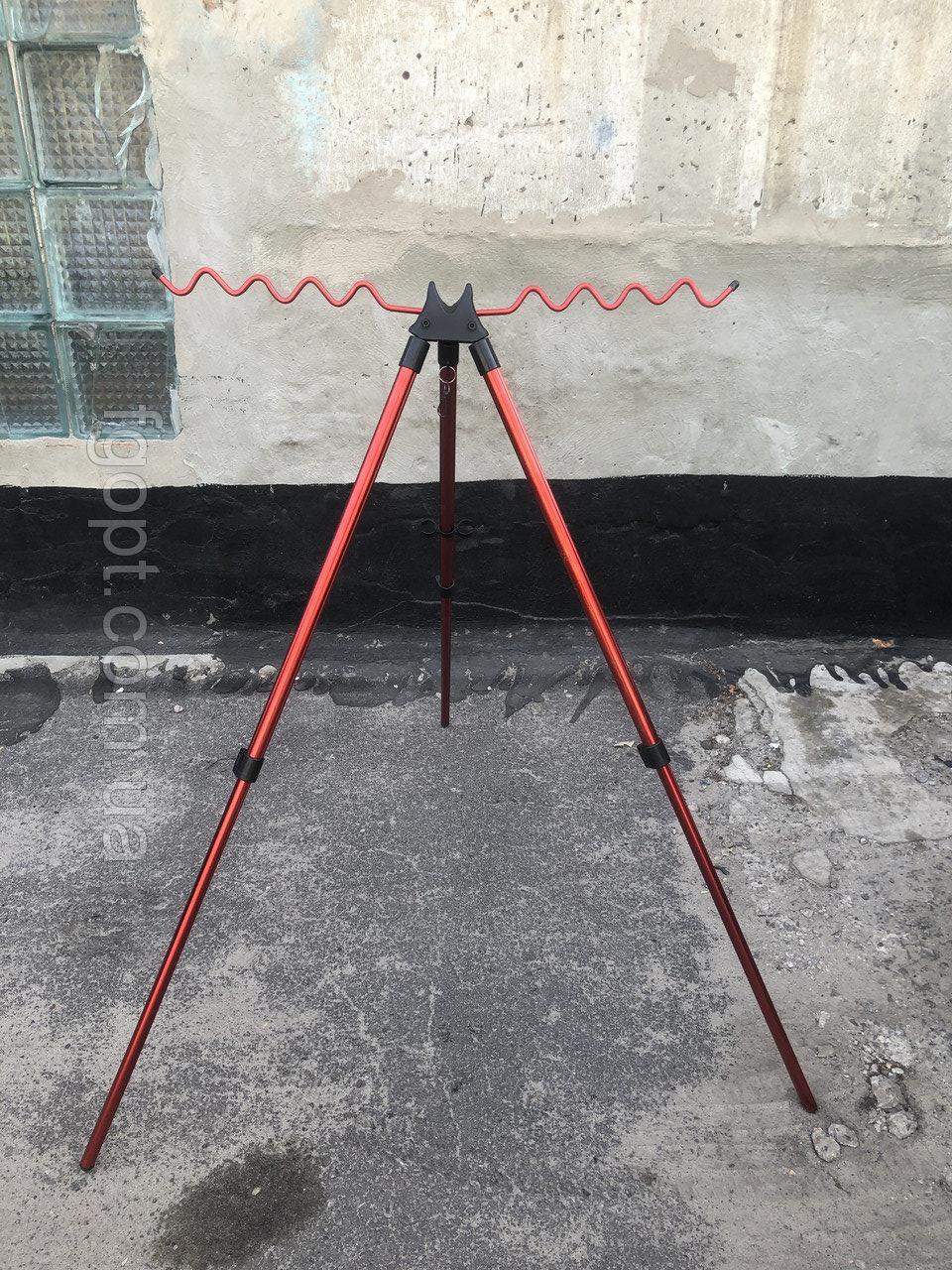"""Подставка тренога фидерная телескопическая на 10 удилищ  высота 1.5 м """"ОРИГИНАЛ"""""""