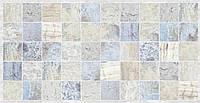 Панель ПВХ Мозаика Мрамор голубой (964х484 мм)