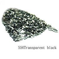 Камни-стразы Сваровски (SS6Transparent black) 1440шт