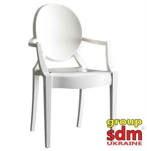 Кресло Дорис (пластик) (Белый)