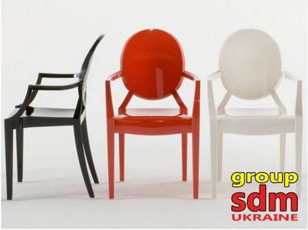 Кресло Дорис (пластик) (Белый), фото 2