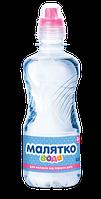 Детская вода Малятко с крышкой-клапаном, 0,33 л