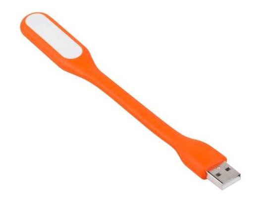 USB Led світильник гнучкий. Помаранчевий