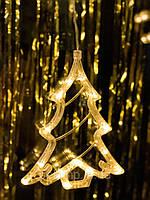 """Новогоднее украшение-гирлянда в виде елочки """"Теплая елочка"""". Цена указана за 1 елочку, фото 1"""