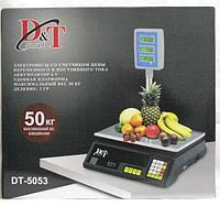 Scales DT-5053 50Kg Stand Domotec, Весы электронные торговые, Весы для продажи, Весы для торговли до 50 кг