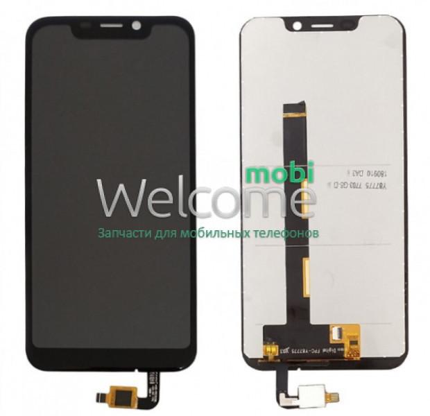 Модуль Blackview A30 black дисплей экран, сенсор тач скрин Блеквью А30