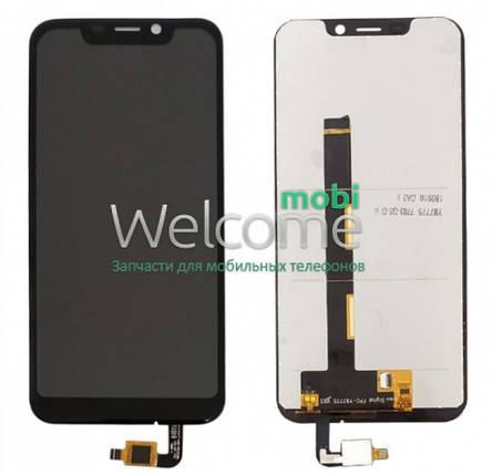 Модуль Blackview A30 black дисплей экран, сенсор тач скрин Блеквью А30, фото 2