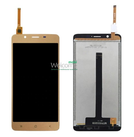 Модуль Blackview P2 Lite gold дисплей экран, сенсор тач скрин Блеквью Р2 Лайт