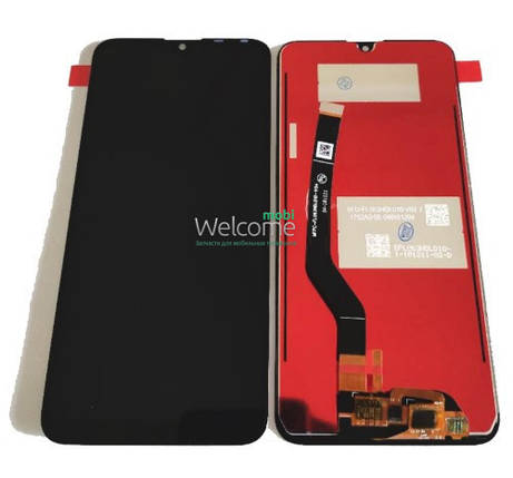 Модуль Huawei Y7 2019/Y7 Prime 2019/Enjoy 9 black дисплей экран, сенсор тач скрин Хуавей Хуавэй У7, фото 2