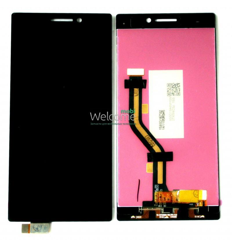 Модуль Lenovo Vibe X2 black дисплей экран, сенсор тач скрин Леново Вайб Х2