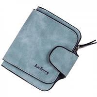 Кошелек Baellerry N2346 blue \ Jeans, Женский кошелек, Портмоне женское, Вместительный кошелек вертикальный