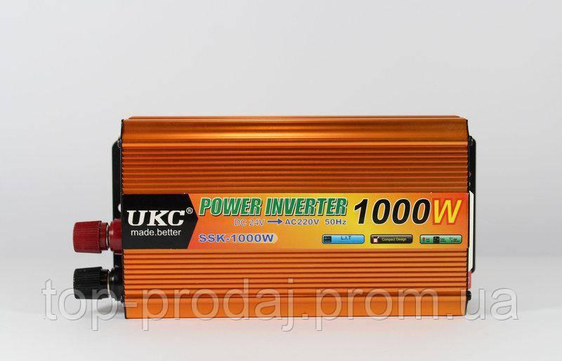 Преобразователь AC/DC SSK 1000W 24V,  Преобразователь электричества, Автомобильный инвертор, Автоинвертор