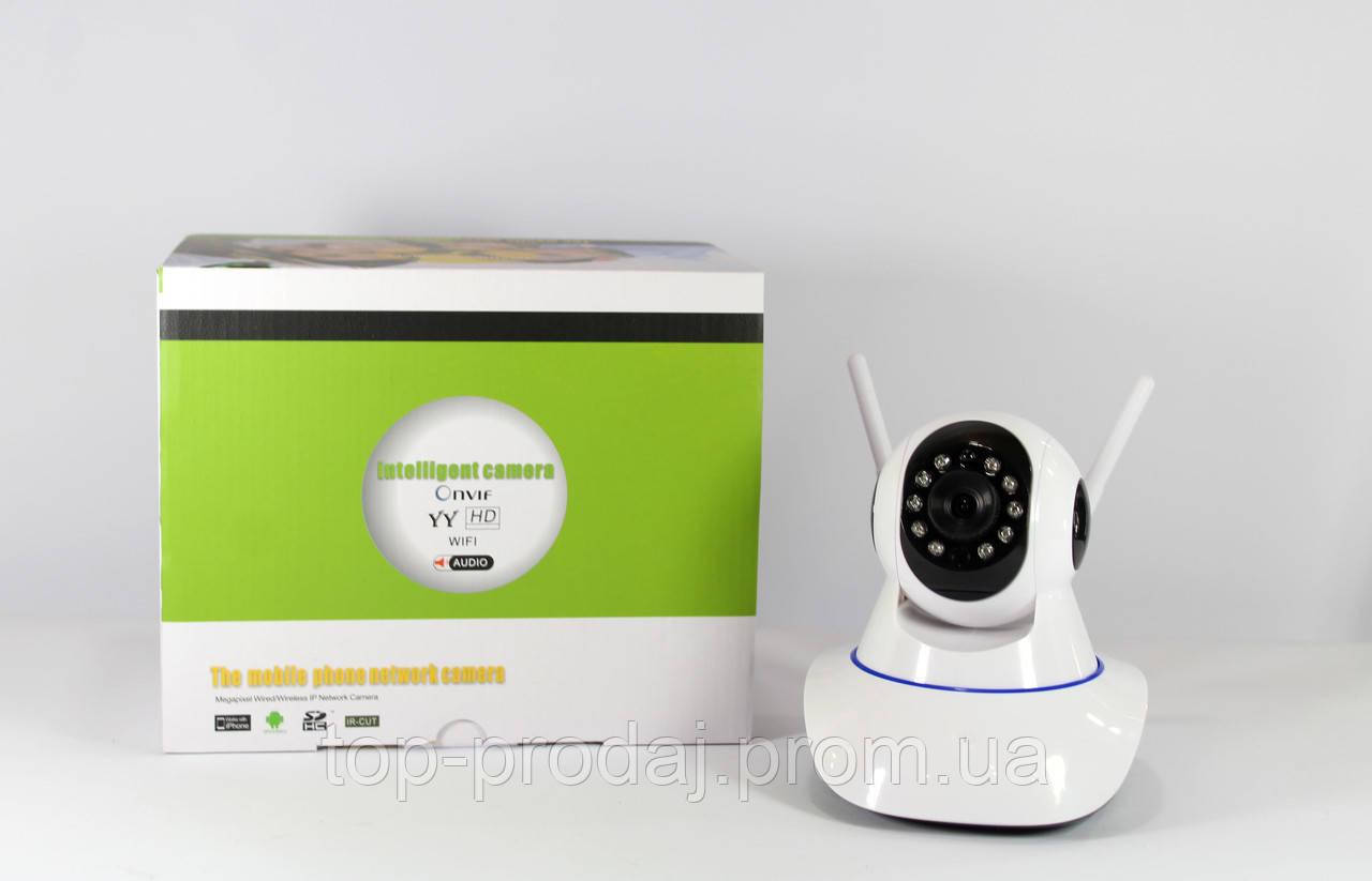 Камера CAMERA IP 6030B/100ss/PT2/1mp/ комнатная, Видеокамера в квартиру, WiFi камера, Камера наблюдения