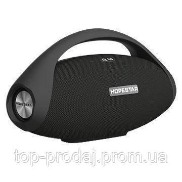 Bluetooth колонка Hopestar H31, Портативная колонка, Колонка с ручкой, Блютуз колонка мощная с повер банк