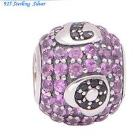"""Бусина на браслет Pandora """"Love"""". серебро 925"""