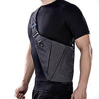 Сумка-мессенджер Cross Body,Сумка через плечо, Мужская вместительная сумка, Сумка для документов, Тонкая сумка