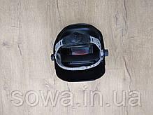 ✔️ Маска для сварочных работ хамелеон AL-FA ALWM01 . Регулятор уровня затемнения: от 9 до 13 DIN, фото 2