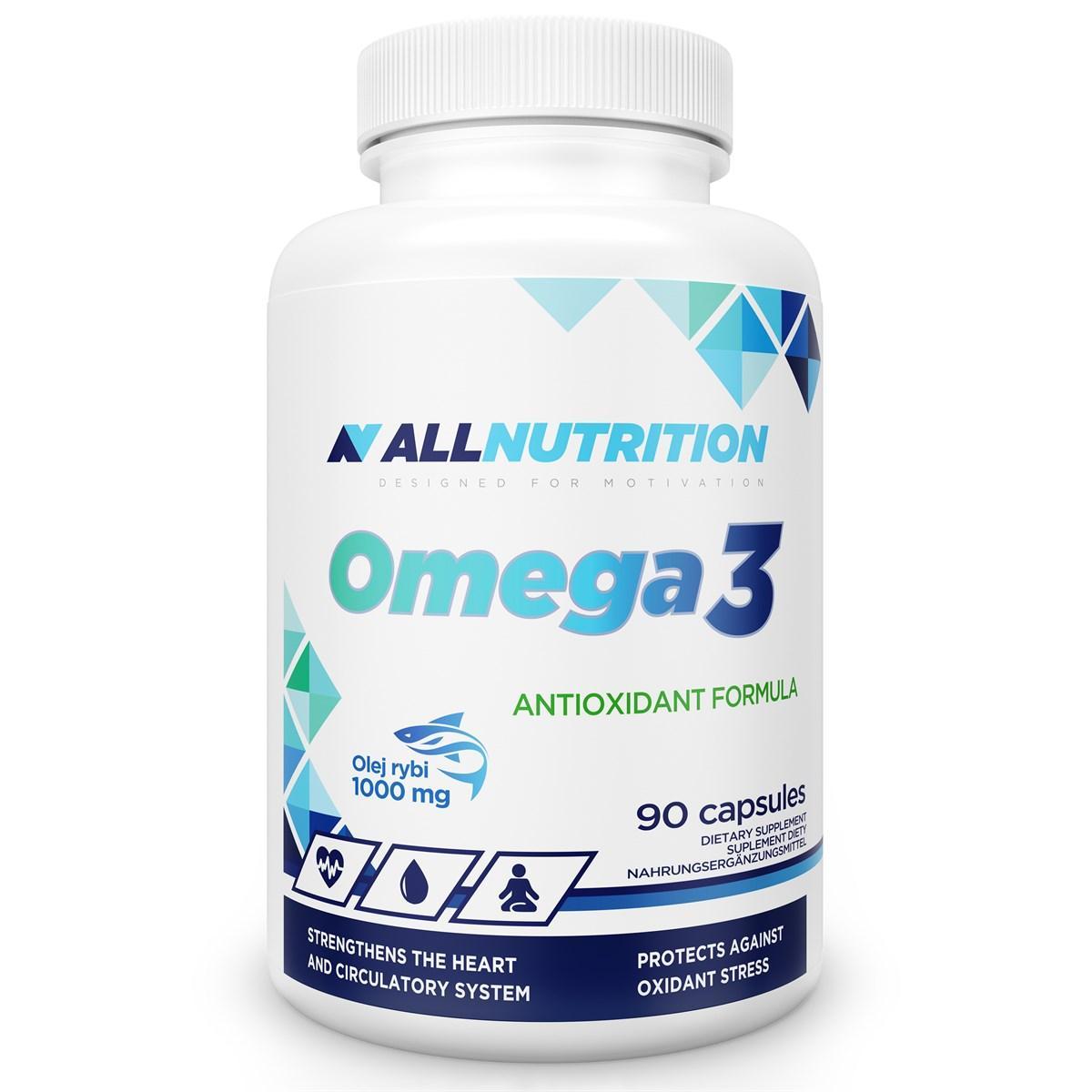 Омега 3 в капсулах AllNutrition Omega-3 90 softgels