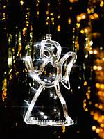 """Новогодняя гирлянда-украшение в виде  ангела  """"Белый ангел"""". Цена за 1 ангела, фото 1"""