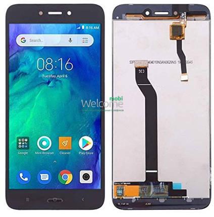 Модуль Xiaomi Redmi Go black дисплей экран, сенсор тач скрин Сяоми Ксиоми Редми Го, фото 2