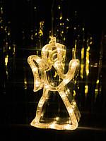 """Новогоднее подвесное украшение в виде ангела """"Теплый ангел"""". Цена за 1 ангела, фото 1"""
