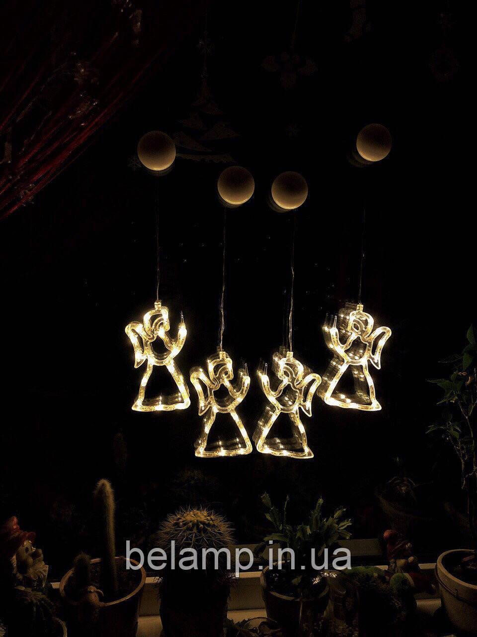 """Новогоднее подвесное украшение в виде ангела """"Теплый ангел"""". Цена за 1 ангела"""