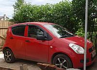 Дефлекторы окон (ветровики) Suzuki Splash 2008