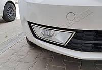 Skoda Octavia (2012-) Накладки на противотуманки 2шт