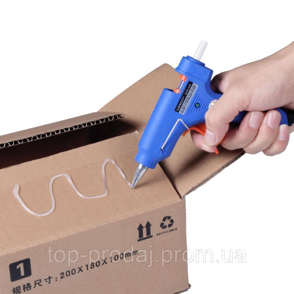 Пистолет для селиконового клея XL-E20, Клеящий пистолет, Клей-пистолет электрический, Пистолет для термоклея