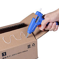 Пистолет для селиконового клея XL-E20, Клеящий пистолет, Клей-пистолет электрический, Пистолет для термоклея , фото 1