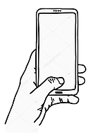 Тачскрин для Microsoft 535 Lumia Dual Sim (RM-1090) (CT2C1607FPC-A1-E), черный, оригинал (Китай)