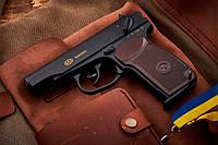"""Пистолет пневматический """"Sas Makarov"""" - корпус из металла, высокая точность, высокое качество сборки"""