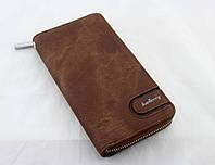Кошелек Baellerry S1514 Coffe, Вместительный мужской кошелек, Портмоне барсетка, Мужское портмоне клатч