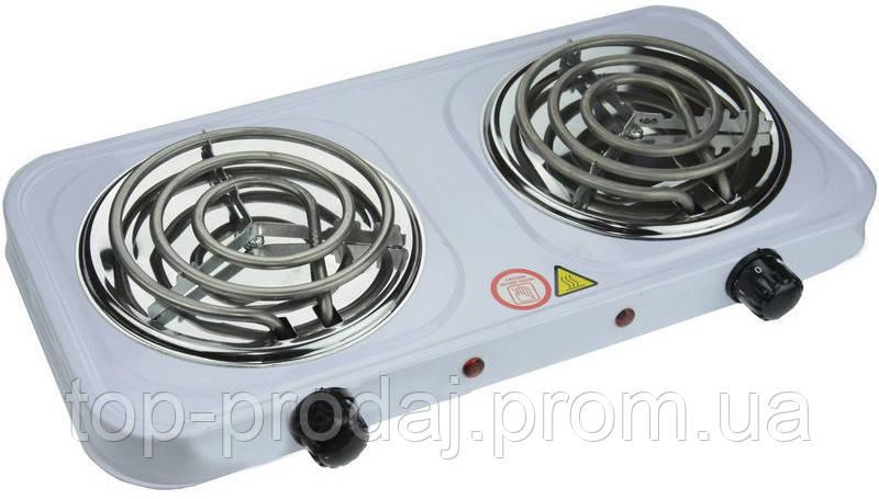 Электроплита Hot Plate HP WX 200 B Wimpex. Плита электрическая двухкомфорочная, Плитка спиральная настольная