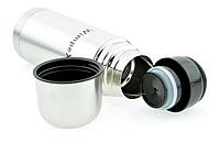 Термоc помповый  Vacuum Flask WX 75 Wimpex 0.75 L, Вакуумный питьевой термос, Термос из нержавеющей стали, фото 1