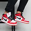 Зимние мужские кроссовки баскетбольные Nike Air Jordan 1 Royal Retro High Winter  (реплика)