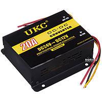 Преобразователь 24v-12v 20A 3387, Прибор инвертор, Инвертор электричества, Автоинвертор, Преобразователь тока