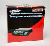Весы ACS 50kg Matrix 4V, Весы торговые, Электронные весы для торговли, Электронные весы для товара, продуктов