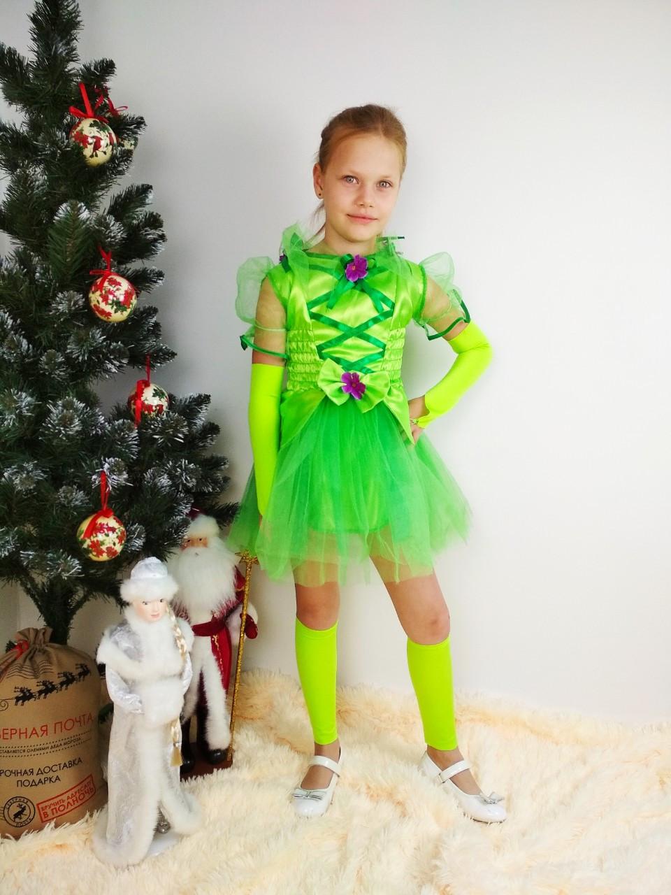 Детский карнавальный костюм феи Винкс/ Динь-динь