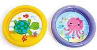 Бассейн детский 59409 2цв. 61*15см, Надувной бассейн для малышей, Бассейн для самых маленьких, Круглый бассейн