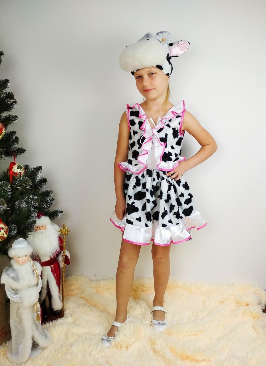 Детский карнавальный костюм Буренки