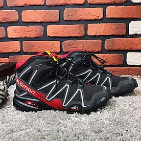 Зимние ботинки (на меху) мужские Salomon Speedcross 3 (реплика) 6-133 ⏩ [ 41,44]