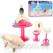 """Набір лялькової меблів Gloria 1213 """"Банна (ванна) кімната принцеси"""""""